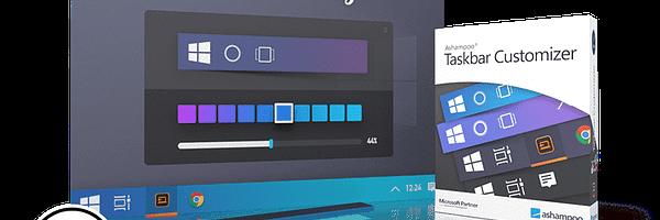 Ashampoo Taskbar Customizer - Contrôle la couleur et l'opacité de la barre de tâches - Gratuit [Giveaway] 13